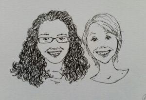 portret portrait drawing portrettekening commission opdracht