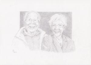 portret portrait opdracht commission portrettekening
