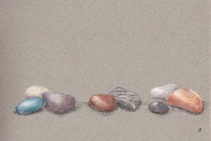 artcard postcard wenskaart stones stenen