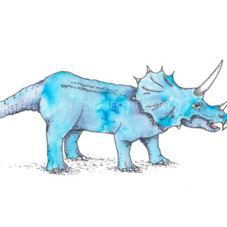 Dinosaurus dinosaur postcard ansichtkaart stegosaurus stegosaur dino