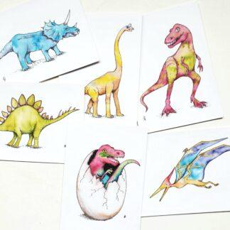 set dino dinosaurs t-rex dinosaurus