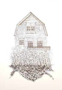 Huis opdracht gebouw tekenen