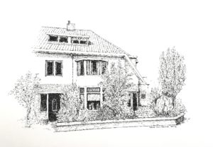 tekening huis opdracht