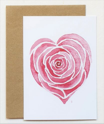 roos rose liefde love postcard ansichtkaart