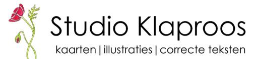logo studio klaproos poppy